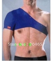 Free Shipping Exercise Sports Elastic Neoprene Shoulder Brace Support Protector Size Free