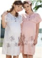 Summer Maternity Dress,Pure Cotton Maternity Sleep wear set , pajamas, Lounge for Pregnant Women , Free shipping