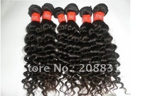 Queen Hair Products Mixed Length16''/18''/20''/24'' AAAAAA Unprocessed Virgin Brazilian Hair Curly 4pcs lot  DHL Free Shipping