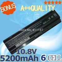5200mAh Battery for HP Pavilion DV3 DM4 DV5 DV6 DV7 G4 G6 G7 635 for Compaq Presario CQ56 G42 G62 G72 MU06 593553-001 593554-001