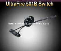 Free shipping,5pcs/lot,UltraFire 501B Remote Pressure Switch Press Controller fit for UltraFire 501B LED Flashlight