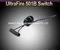 Free EMS/DHL,50pcs/lot,UltraFire 501B Remote Pressure Switch Press Controller fit for UltraFire 501B LED Flashlight