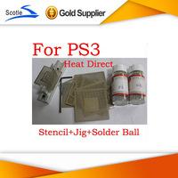 BGA Reballing Kits 16pcs Heat Direct BGA Stencil for Ps3+BGA Reballing Jig+Solder Ball