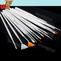 Free Shipping Professional 15pcs Nail Art Brush Set  Design Drawing Nail Brushes 540