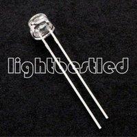 5mm strawhat type LEDD,Blue Color, LBT68B2C-LSA-C 460~470nm,Water Clear,2.9~3.3V,1000~1500mcd,120deg