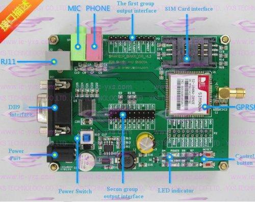 free shipping!!! Special Offer Raspberry Pcb Breadboard Gprs Gsm Sim900 Sim900a Development Board(China (Mainland))