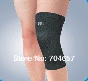 Free Shipping Exercise Sports Neoprene Elastic Knee Support Brace Protector Size Free 1pcs(China (Mainland))
