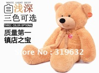 2012 hot models 1.2m brown color plush bear