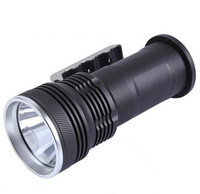 Free shipping CREE LED 1800Lm Rechargeable Flashlight Torch Charger Portable Light hand lamp