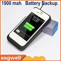 1900 mAh For Apple-iphone4 4S External Battery Charger Case battery backup for iphone