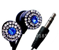 SB-EB011 gift in-ear colorful crystal fashionable promotion original stereo MP3/MP4 3.5mm earphone