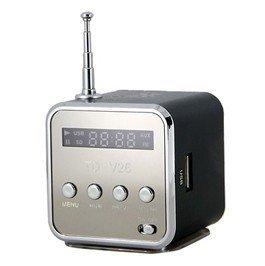 Low Price - Mini Speaker V-26 USB TF Card Speaker with FM Radio Free shipping