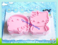 Free shipping--Kitty-Cat Cookie Cutter Set/Biscuit Cutter Molds/ Pastry Decorating Tools (A-1965)