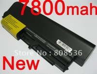Free Shiping 9-Cell Laptop battery for Lenovo ThinkPad 41U3198 42T4547 42T4652 43R2499 ASM 42T4533 ASM 42T5265 FRU 42T4530 FRU