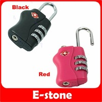 Free Shipping 5pcs/lot TSA Resettable 3 Digit Combination Travel Luggage Suitcase Lock Padlock