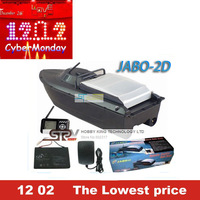 2013 Newest remote control rc Bait Boat JABO-2D With Fish Finder & Backward turning & Spot turning  RTR jabo 2d + Free Shipping