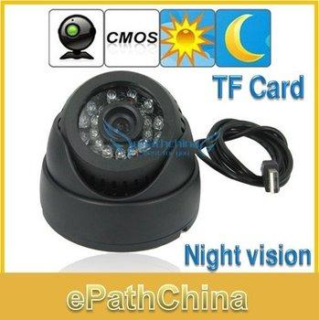 Бесплатная доставка! 2012 оригинальные купол 1/4 дюйма CMOS камеры видеонаблюдения ...