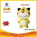 Cute Yellow Tiger USB 2.0 Flash Memory 4G/8G/16G/32G Five Color,.Free Shipping(China (Mainland))