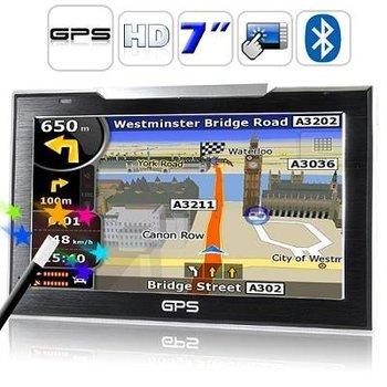 2012 new safe 7 Inch Touch Screen GPS Navigator (FM Transmitter, Bluetooth)900578-SKU201011230062 Free shipping
