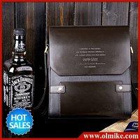 free shipping 2012 fashion Men's shoulder bag messenger handbag business package male retro casual PU briefcase for Men BB002