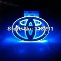 car logo light for TOYOTA Crolla/Vios/Highlander, HYUNDAI Elantra-10,car badge light,auto led light,auto emblem led lamp