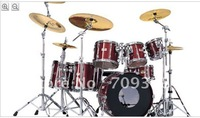 world famous free shipping  drums set