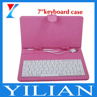 "Factory price 7"" keyboard case for tablet pc multi colors"