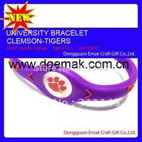 Clemson Tigers of Fashion bracelets bangles