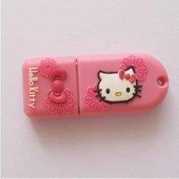 Genuine 4GB 8GB 16GB 32GB Pink Kitty USB 2.0 Memory Stick Flash Drive