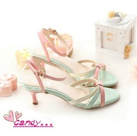 2012 New Pink Lady style high heels sandals for women With sandals Wedge sandals  KD-1
