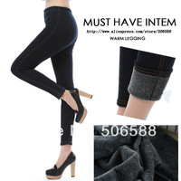 2013 Legging Pants Jeans blue and black+ Sexry warm+Cheaper price 1PCS+ Free Shipping Cost + Fast Delivery