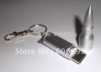 Wholesale NEW silver bullet Genuine 2GB 4GB 8GB 16GB 32GB USB 2.0 Memory Stick Flash Pen Drive, DF72 5pcs/lot drop shipping