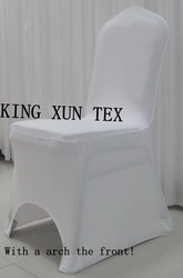 white spandex chair cover\lycra chair cover Free shipping 200-205gsm(China (Mainland))
