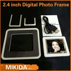 New 2.4 inch Digital Photo Frame free shipping(China (Mainland))