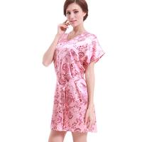 White dress sexy black condole belt nightgown lovely princess fashion emulation silk pajamas female