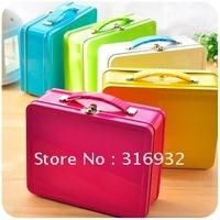 F6 New arrival! Beautiful portable iron storage box, size L and S,many colors, you can choose