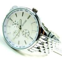 Fashion luxury men's wristwatches Stainless Steel Strap high quality SINOBI Watch Free shipping 9268