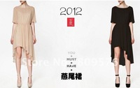 2012 hotsale ladies' dresses.summer women dresses included inside liner,free shipping