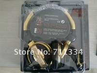 Hot Selling Golden dj1000 Limited Edition DJ1000 headphones earphone DJ1000 With retail box