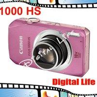 Original Canon IXUS 1000 HS Digital Camera 10x Optical Zoom, 4x Digital Zoom,10MP Sensor Resolution Digital Camare