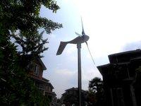 1500W wind turbine geberator sets,3*400W wind turbine+MPPTcharge controller+1500/3000W pure sine wave inverter