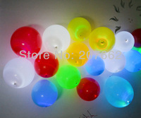 Free shipping 50pcs/lot 5color 12inch led balloon  led light balloon for wedding decoration