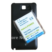 5200mah Extended Battery+Cover Black for Samsung i9220 Galaxy Note N7000