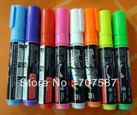 8 pcs  8mm Highlighter Fluorescent Liquid Chalk Marker Pen for LED Writing Board