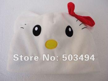 Animal Hello Kitty Hat Plush Soft Warm Cap Hat Kitty cap EMS Free Shipping