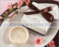 Cherry Blossom Soap Wedding Favor for Wedding Gifts Party Favors Stuff Supplies Free Shipping Sale 25 pcs/set