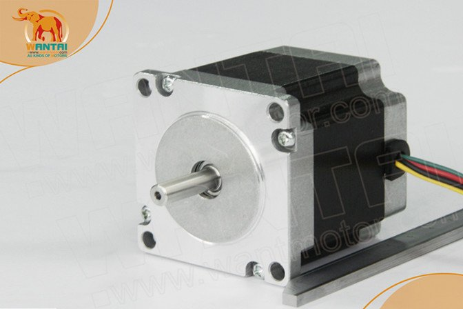 Nice Motor! Wantai Nema23 Stepper Motor 57BYGH633 191oz-in 78mm 3A CE ROHS ISO CNC Router Printer Plasma Laser Engraver Machine(China (Mainland))