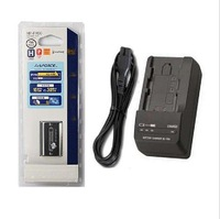 NP-FH50 Camera Original Rechargeable Li-ion Battery + BC-TRV Charger For Sony Digital Camera Free Shipping