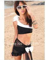 New Fashion Bowknot Hot Pretty All Size Padded Swimwear Swimsuit Trikini Bikini