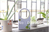 Free shipping,72PCS/LOT Portable Home Articles Fashion Mini No leaves Fan Air-conditioners with USB